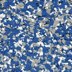 Paillettes mélangées Bleu-Gris-Blanc