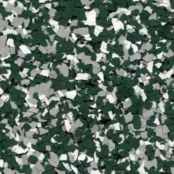 Paillettes mélangées Vert kaki-Gris clair-Blanc